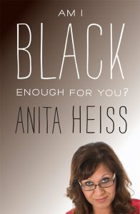 portrait of Anita Heiss on the cover her book - Am I black enough for you?