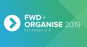 FWD + Organise 2019 Conference Logo