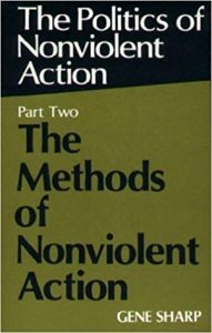 Cover of Gene Sharp's 'The Politics of Nonviolent Action: Part Two The Methods of Nonviolent Action'