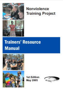 Front cover of Pt'Chang's Nonviolence Training Project Trainers' Resource Manual