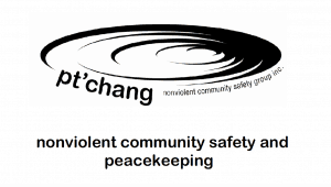 Cover of the Pt'chang Nonviolent Community Safety and Peacekeeping Trainers' Manual