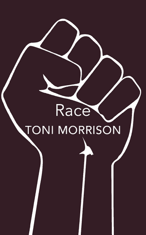 Book cover: Race by Toni Morrison.