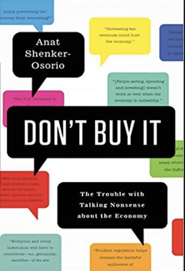 Don't buy it book cover