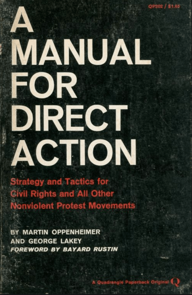 book cover of A manual for direct action