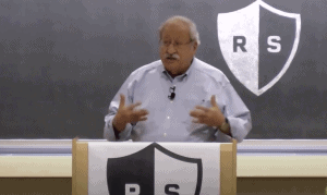 Marshall Ganz teaching a class