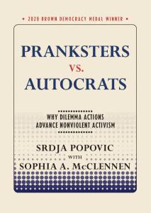 book cover of pranksters vs autocrats