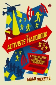 Front cover of The Activists Handbook.