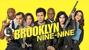 Photo of the cast of Brooklyn 99.