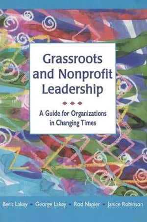 Cover of the book Grassroots and Nonprofit Leadership.